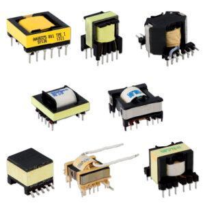 High frequency transformer E55/28/21